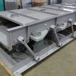 Oscillating conveyor AVR-1000/3.5