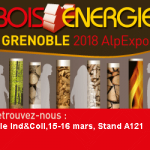 Salon Bois Energie 2018 in Grenoble, France